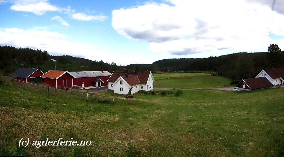 103 Gårdsferie Vatnestrøm.  Iveland. Agder